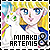 Artemis and Minako Aino/Sailor Venus/Sailor V